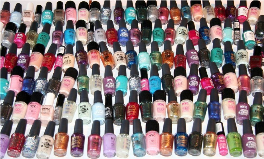 280 x NYC Assorted Nail Polish RRP 1000 40 shades One off Clearance ...